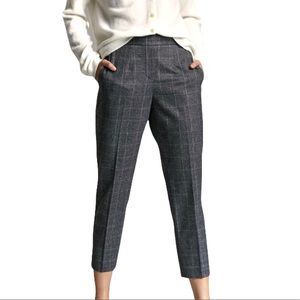 Babaton Cohen Wool & Cashmere Checkered Pants